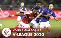 Lịch trực tiếp V-League  ngày 10-10: 'Đại chiến' Hà Nội - CLB TP.HCM