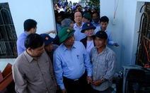 Thủ tướng thăm người dân vùng bão lũ Quảng Ngãi, Quảng Nam