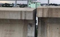 Đề nghị tổng thầu rà soát sự cố gối cao su bị rơi tại gói thầu CP2 tuyến metro số 1