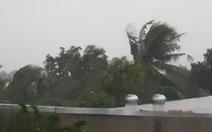 Phú Yên đã có gió giật mạnh cấp 9, cảnh báo ngập lụt hạ du