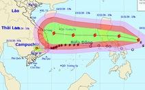 Bão Vamco tiếp tục mạnh lên, thẳng hướng Biển Đông