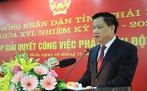 Ông Nguyễn Khắc Thận được bầu làm chủ tịch UBND tỉnh Thái Bình