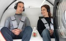 Lần đầu tiên thử nghiệm tàu siêu tốc công nghệ Hyperloop có chở khách