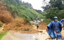 Nhân chứng kể lại vụ sạt lở núi kinh hoàng trên quốc lộ 40B