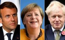Ông Biden điện đàm với lãnh đạo Anh, Pháp, Đức: 'Mỹ sẽ quay lại cuộc chơi'