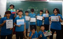 Học trò Sài Gòn vẽ miền Trung trong bài thi văn