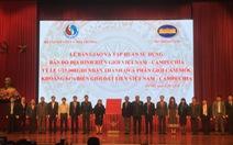 Bàn giao bản đồ địa hình Việt Nam - Campuchia cho 22 cơ quan