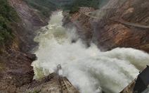Thủy điện Thượng Nhật lại tích nước trái phép trước bão số 13