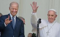 Đức Giáo hoàng gọi điện chúc mừng ông Biden