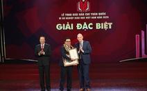 Báo Tuổi Trẻ đạt giải đặc biệt báo chí toàn quốc 'Vì sự nghiệp giáo dục Việt Nam' năm 2020