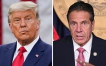 Ông Trump và thống đốc New York 'đốp chát' nhau vì vắc xin COVID-19