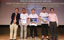 SV ĐH Duy Tân vào chung khảo 'Sinh viên với An toàn Thông tin ASEAN 2020'