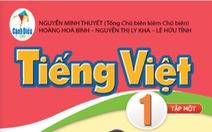 Công bố tài liệu chỉnh sửa sách giáo khoa Tiếng Việt 1 bộ Cánh Diều