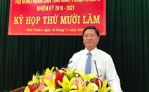 Ông Trần Quốc Nam giữ chức chủ tịch UBND tỉnh Ninh Thuận