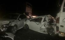 Hàng loạt xe đụng nhau, cao tốc Trung Lương kẹt cứng hơn 10 cây số trong đêm
