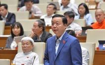 Bộ trưởng nói gì về ý kiến 'bước thụt lùi' đánh giá tác động môi trường?