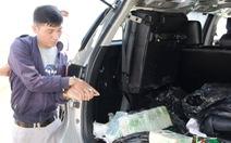 Dán logo VTV để đưa 17kg ma túy qua biên giới
