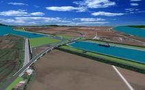 Động thổ cụm công trình giúp tàu 3.000 tấn vào sông Đáy