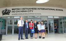 Tổng lãnh sự Vương quốc Anh ghé thăm Trường Quốc Tế Anh Việt BVIS TP.HCM
