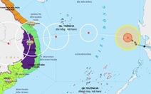 Bão số 10 giảm cấp, sẽ suy yếu thành áp thấp nhiệt đới khi vào bờ