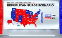 Dự báo của CBS: Ông Trump thắng cửa hẹp nhờ sự trỗi dậy của cử tri Cộng hòa