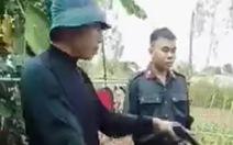 Xôn xao việc công an bắt buôn lậu, một phụ nữ bị bắn vào tay