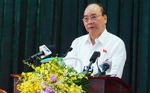 Thủ tướng Nguyễn Xuân Phúc: trồng 1 tỉ cây xanh trong 5 năm chưa phải là nhiều