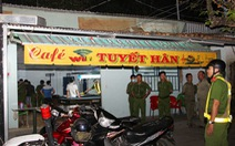 Công an ập vào tiệm cà phê, 'thầu' ném sổ cá độ bóng đá phi tang