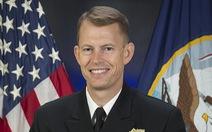 Một chuẩn đô đốc Hải quân Mỹ 'im lặng' đến Đài Loan