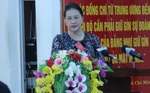 Cử tri hỏi chủ tịch Quốc hội về vụ án tử tù Hồ Duy Hải