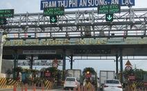 Từ 28-11, TP.HCM kiểm tra tải trọng xe tại trạm thu phí An Sương - An Lạc