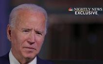 Ông Biden khẳng định không điều tra ông Trump
