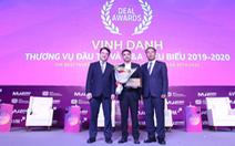 Masan Group được bình chọn là công ty có thương vụ đầu tư và M&A tiêu biểu năm 2019-2020
