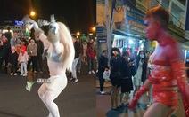 Diễn trò phản cảm trên phố đi bộ Đà Lạt, bị xử phạt 3,2 triệu đồng