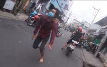Sau va chạm xe với người đi đường, kẻ cướp giật bị cảnh sát tóm gọn