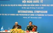 Việt Nam sẽ tăng số lượng nữ quân nhân tham gia hoạt động gìn giữ hòa bình