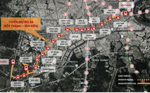 Tuyến metro 3A giai đoạn 1 bổ sung ga tại Khu y tế kỹ thuật cao