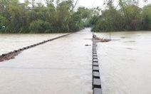 Phú Yên: Mưa hơn một ngày, đã có một số địa phương bị chia cắt