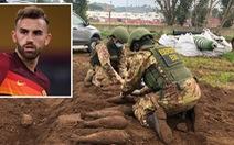 Phát hiện 20 quả bom chưa nổ ở sân tập của AS Roma