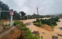 Nước lũ cuốn mất tích 2 du khách trong Vườn quốc gia Bidoup, Núi Bà