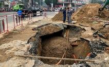 Thay đường cống tôn đã cũ mục ở đường Phan Văn Trị