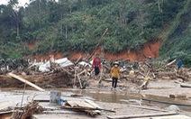 Những hình ảnh hoang tàn nơi xảy ra vụ lở núi 11 người tử nạn