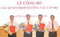 Khánh Hòa bổ nhiệm nhiều lãnh đạo mới cấp sở