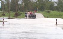 Mưa lớn, nhiều hồ thủy điện, thủy lợi ở Phú Yên xả lũ