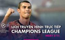 Lịch trực tiếp Champions League: Leipzig đụng độ PSG