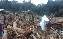 Quân đội, biên phòng tăng tốc tìm người mất tích tại Phước Sơn