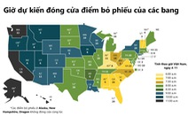 Xem bầu cử Mỹ, nên chờ kết quả từ bang nào?