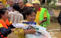 Mua sắm hỗ trợ bà con vùng lũ: Tiện lợi với Saigon Co.op