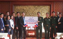 MB Ageas Life chung tay ủng hộ đồng bào lũ lụt miền Trung