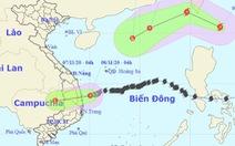 Áp thấp nhiệt đới trên biển Quảng Ngãi đến Phú Yên, miền Trung gió mưa